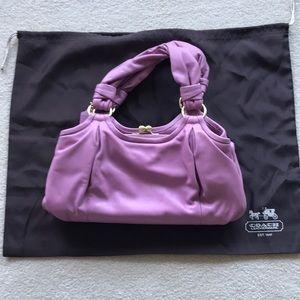Gorgeous Pink Leather Coach shoulder bag